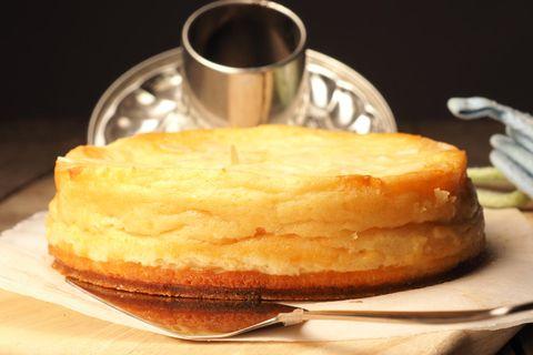 Vanille-Käsekuchen mit Schnee