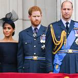 Prinz Harry mit Prinz William, Herzogin Meghan und Herzogin Kate