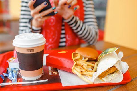 McDonald's ist eine bekannte Fast-Food-Kette