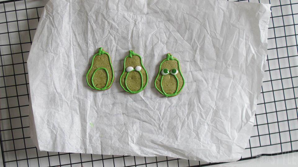 Outlines in grün malen