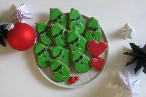 Grinch-Kekse zum Selbermachen