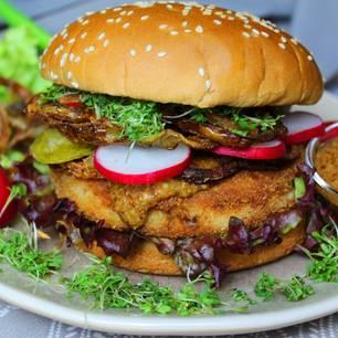 Milzwurst-Burger