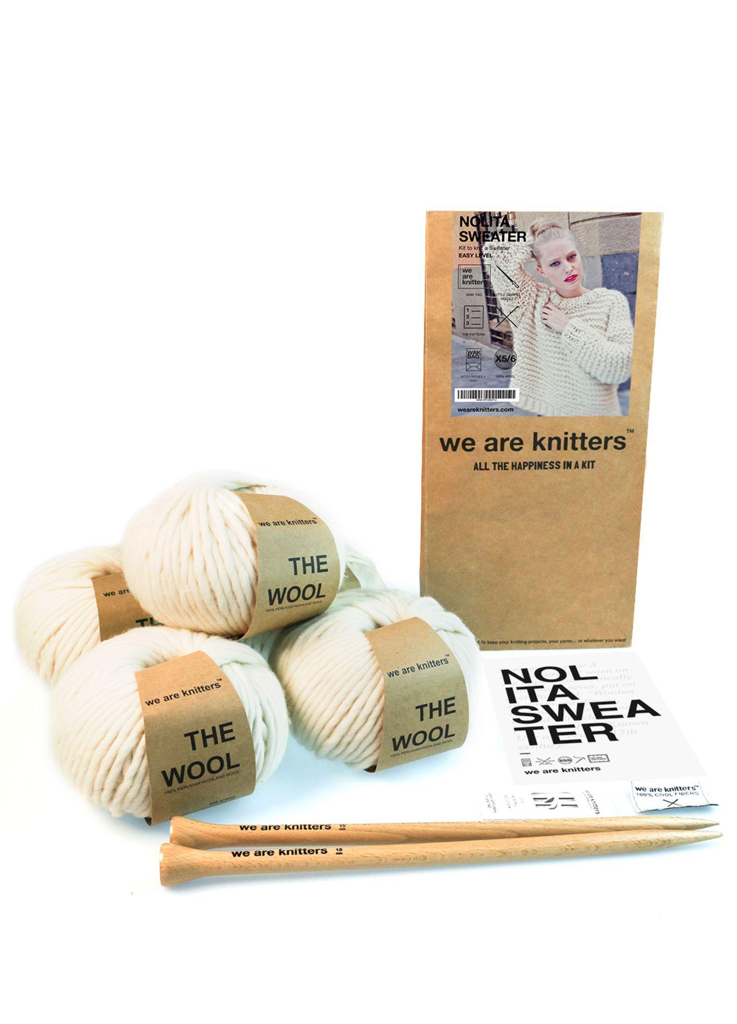 Weihnachtsgeschenke für die Mutter: Strick-Set von We are Knitters