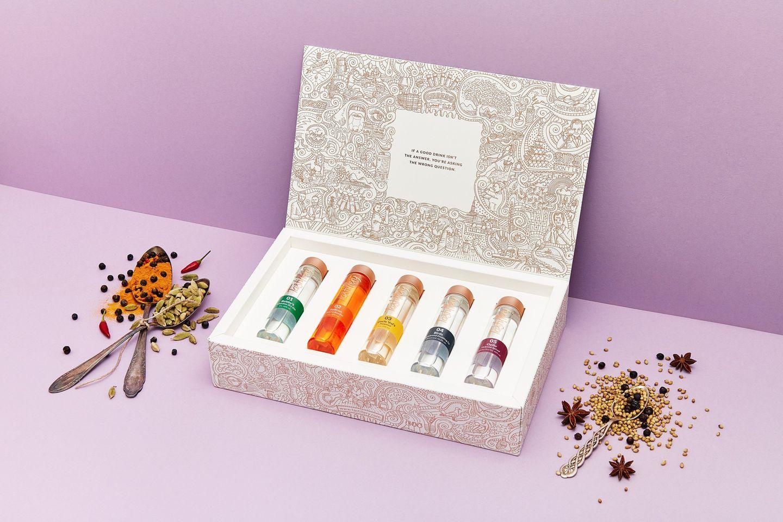 Weihnachtsgeschenke für den Partner:  Tastillery Tasting-Set Exotic