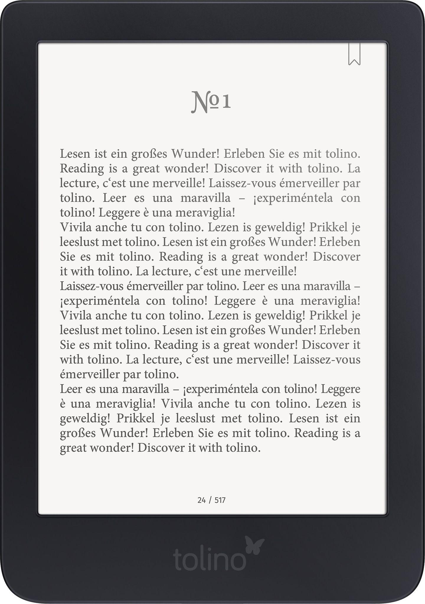 Weihnachtsgeschenke für die Mutter: eBook Reader von Tolino