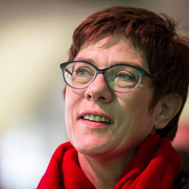 Annegret Kramp-Karrenbauer ist die neue Parteichefin der CDU