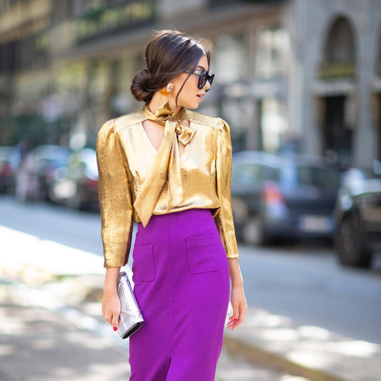 Glamour-Frisuren: Edler Chignon