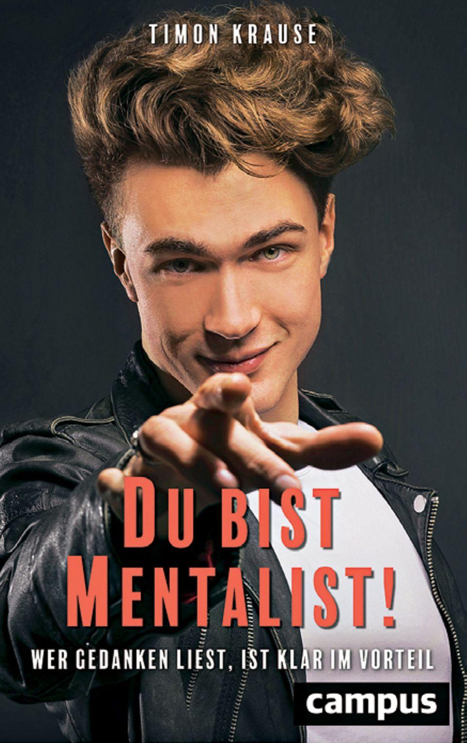 """Buchcover von """"Du bist Mentalist!"""""""