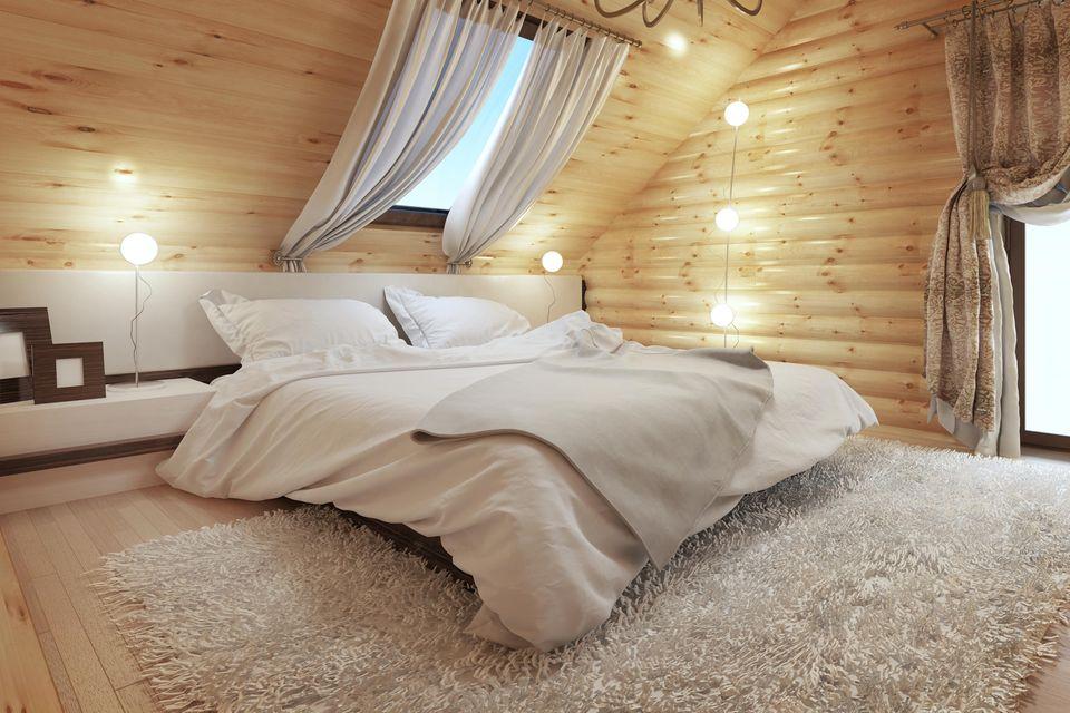 Schlafzimmer gemütlicher machen: Flauschiger Teppich