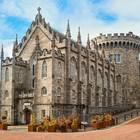 Das Dublin Castle mittern in der Altstadt