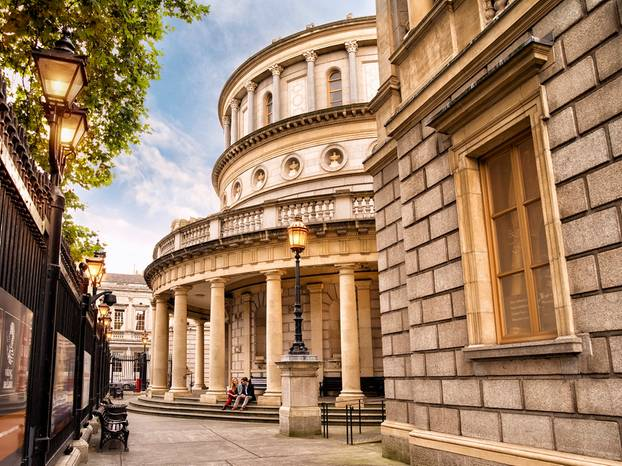 Prächtig und opulent: Das Nationalmuseum in Dublin