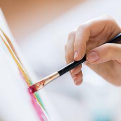 Malen mit Acryl: Acrylbild