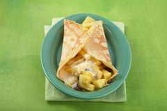 Ananas-Crêpes