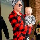 Popsängerin Pink mit Sohn Jameson Moon