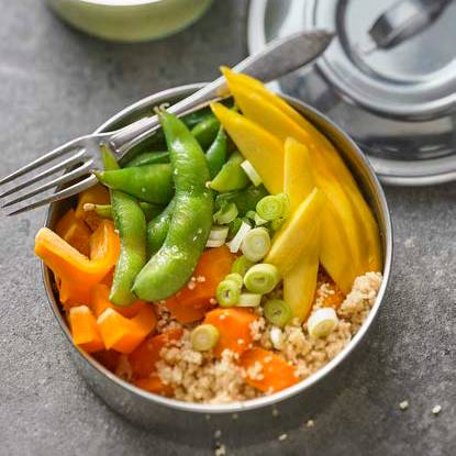 Möhren-Mango-Bowl