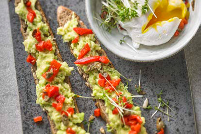 Hühnchen-Avocado-Diät