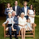 Royale Kinderfotos: Royal Family im Garten