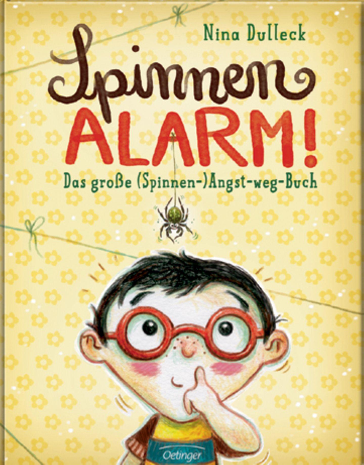 Literaturempfehlung: Spinnenalarm!