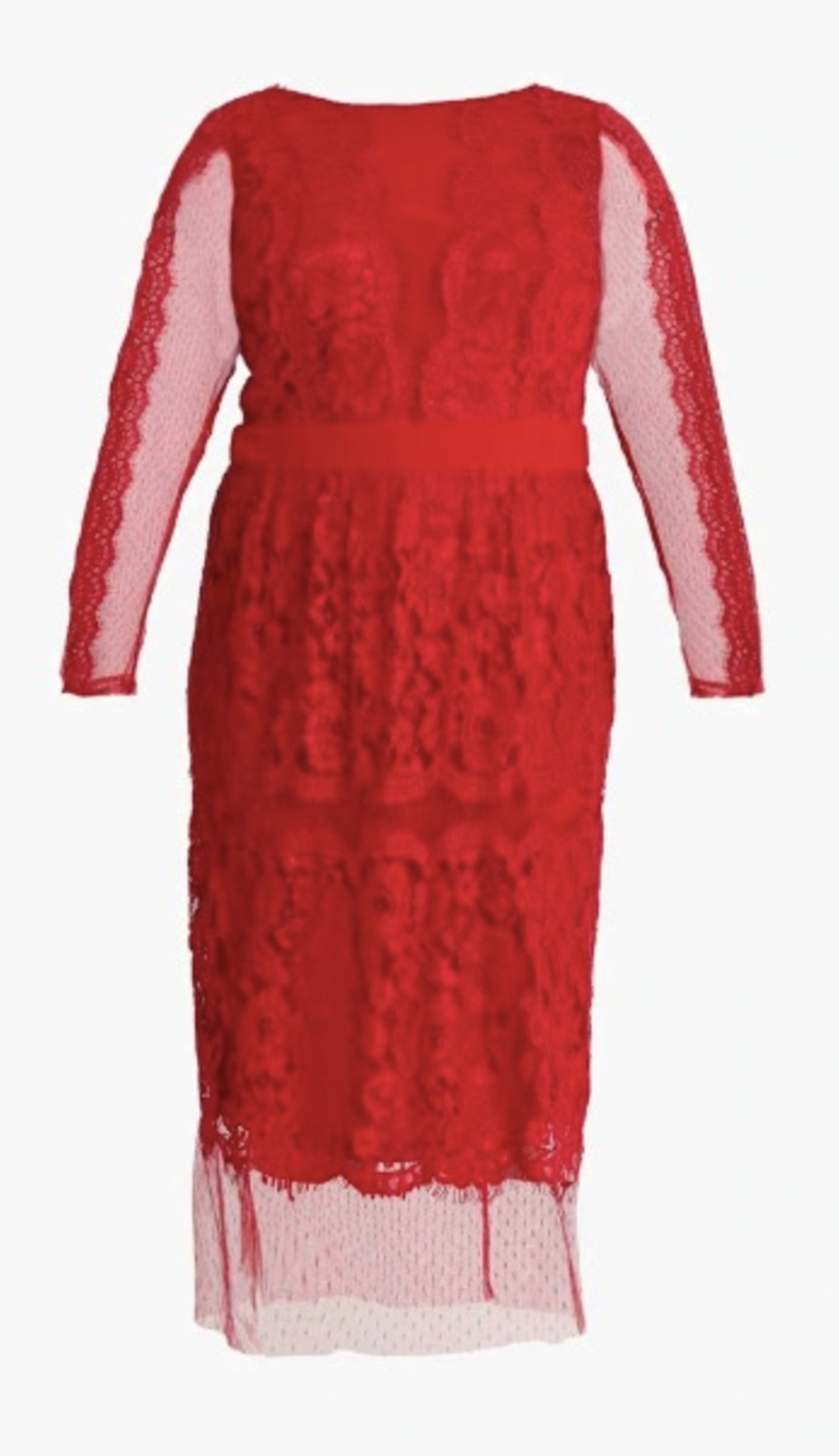 Festtags-Kleider für kurvige Frauen