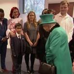 Besuch der Queen überwältigt kleinen Jungen