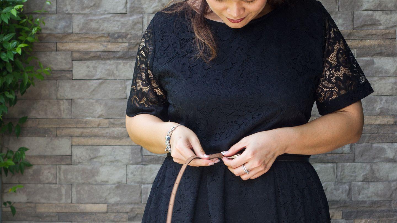 kleider für kurvige: glamour an den festtagen | brigitte.de