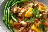 Grünes Jackfruit-Curry