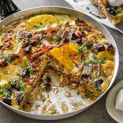 Chili-Bohnen-Tortilla
