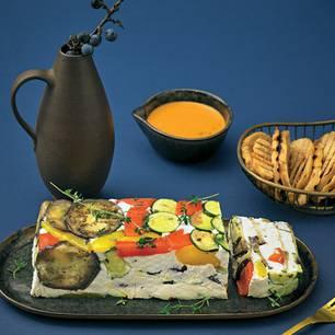 Gemüse-Frischkäse-Terrine
