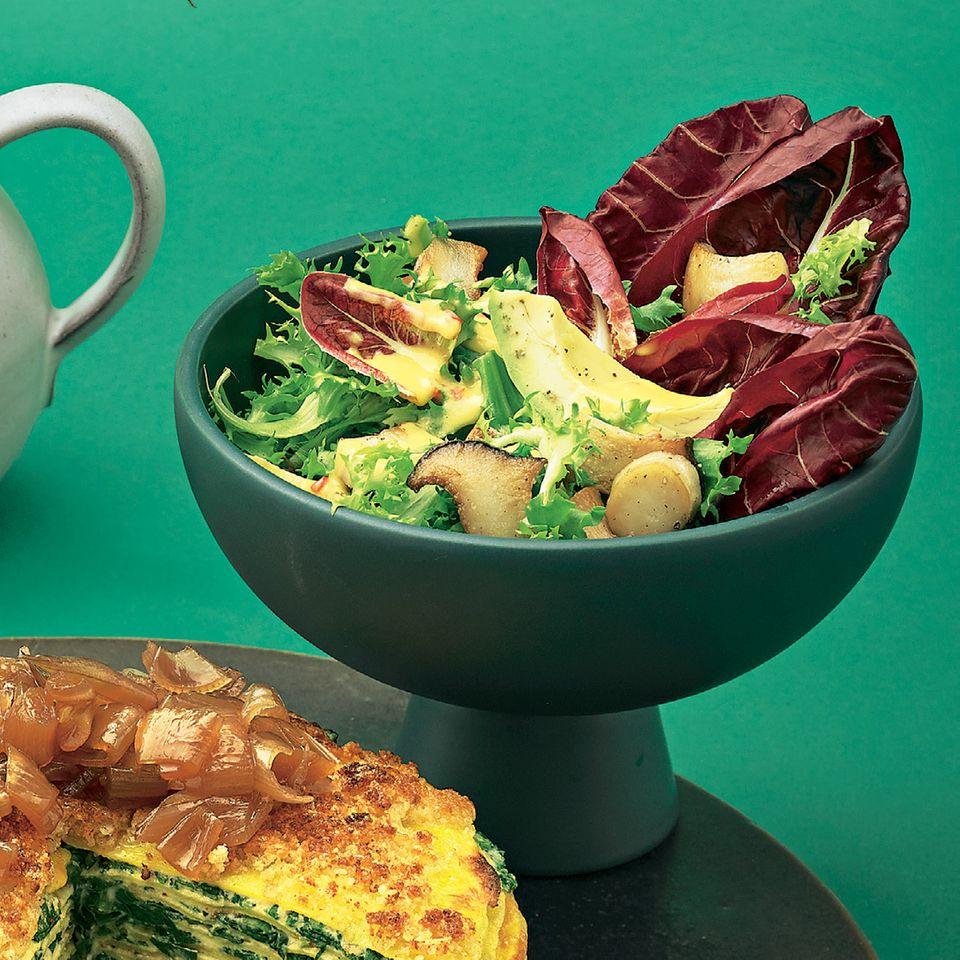 Frisée-Radicchio-Salat