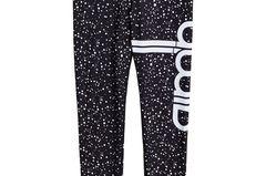Neu in den Shops im Januar: aim'n <3 Gina Tricot Fitness Tights in Schwarz mit weißen Punkten