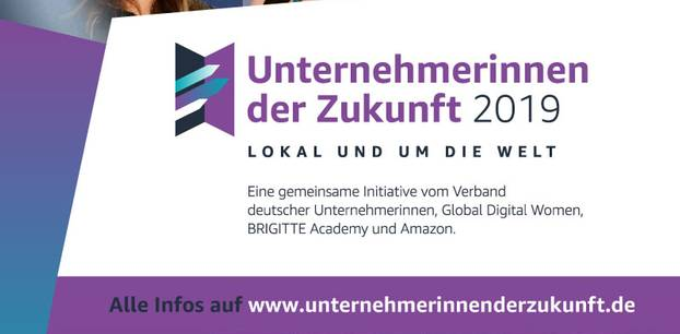 Unternehmerinnen der Zukunft 2019: Aufruf zur Bewerbung