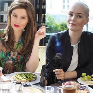 Diagnose Brustkrebs: Carolin vor und während der Therapie
