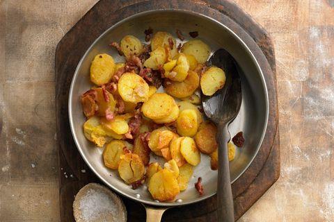 Kochen mit Resten: Bratkartoffeln