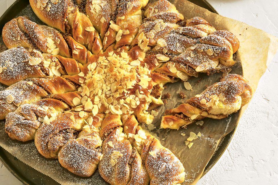Tarte Soleil (französischer Sonnenkuchen)
