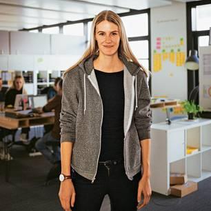 Zeitarbeit für Geflüchtete: Zarah Bruhn