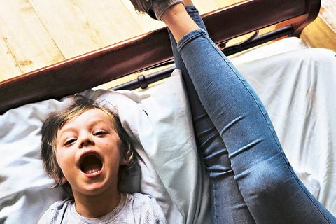Dulsberg: Kind mit Mutter