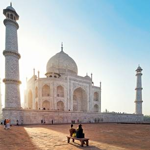 Rundreise Rajasthan: Das Tadsch Mahal