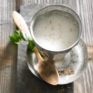 Sesam-Gurken-Milch