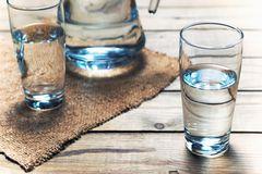 Schrothkur: Wassergläser