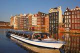 Amsterdams Sehenswürdigkeiten bei einer Kanaltour entdecken