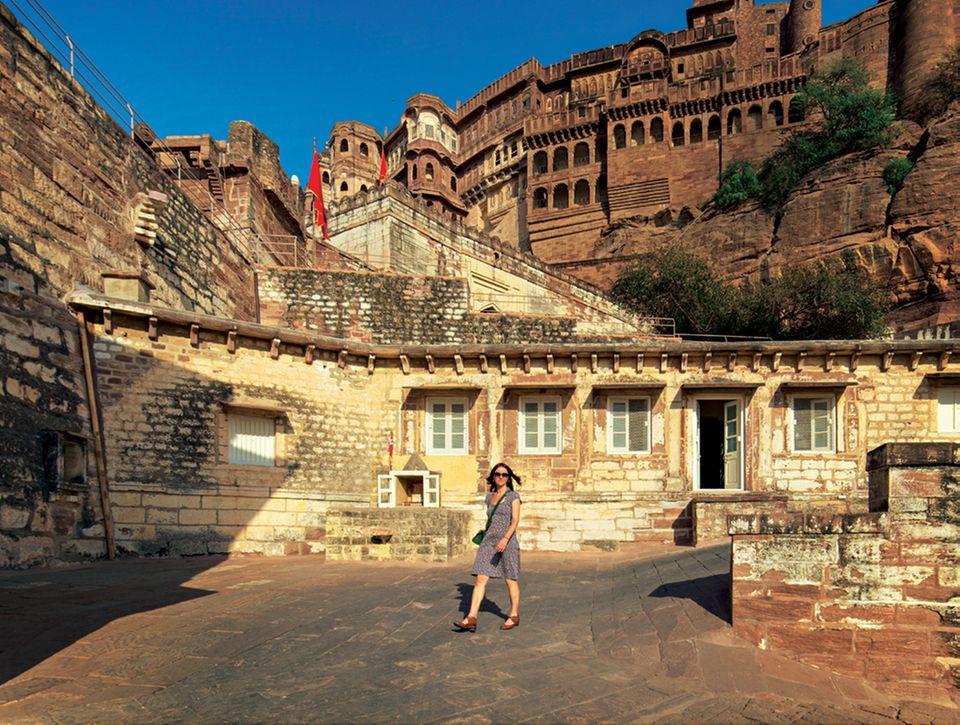 Rajasthan: Die Palastfestung Fort Mehrangarh