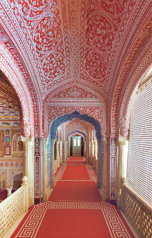 "Rajasthan: Das ""Samode Palace""- Hotel"