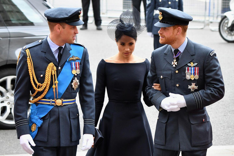 War Prinz William gegen die Hochzeit von Meghan und Harry?