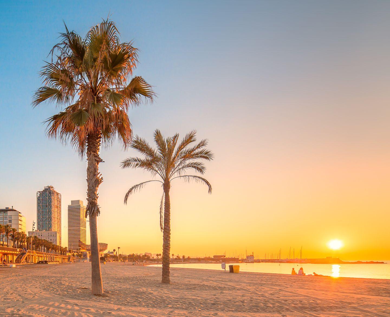 Barcelona-Sehenswürdigkeiten: Der Strand