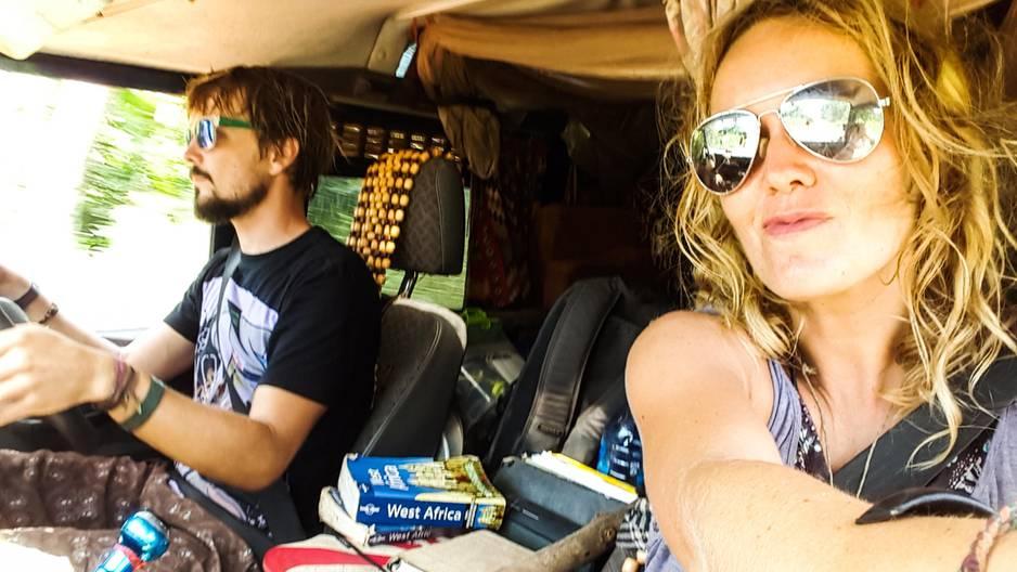 Roadtrip durch Westafrika: Ulrich Stirnat und Lena Wendt