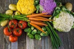 Vegetarisch essen: Gemüse