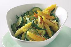 Parmesan-Schupfnudeln mit Zucchini
