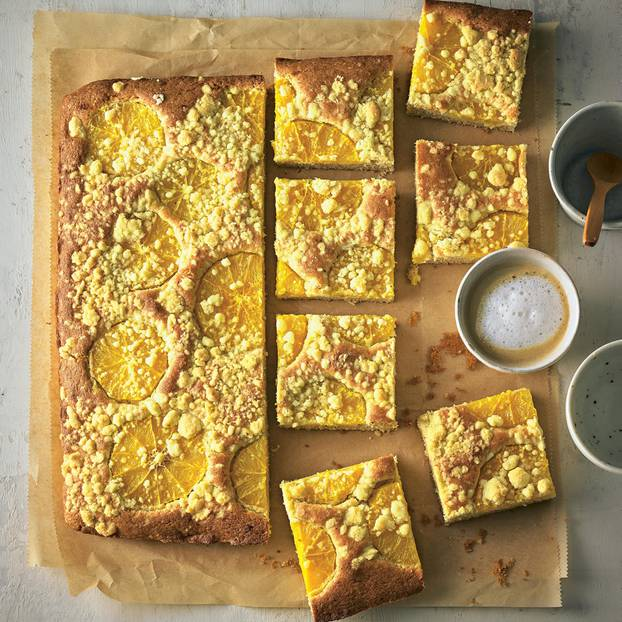 Orangen Streusel Kuchen Brigitte De