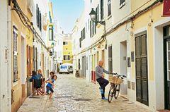 Menorca - Die Gassen von Ciutadella