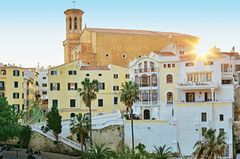 Menorca - Inselhauptstadt Mao